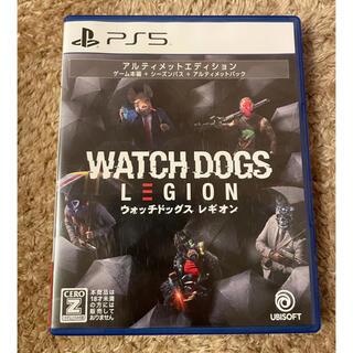 プレイステーション(PlayStation)の【美品】 ウォッチドッグス レギオン アルティメットエディション PS5(家庭用ゲームソフト)