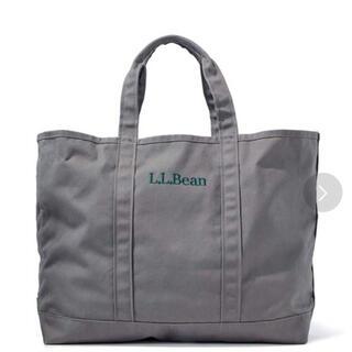 エルエルビーン(L.L.Bean)のL.L.Bean エルエルビーン グローサリートートバッグ グレー新品未使用(トートバッグ)
