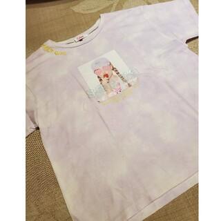 ピンクラテ(PINK-latte)のビンクラテ ダイダイTシャツ(Tシャツ/カットソー)