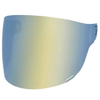 ベル(BELL)の最安★新品★ベル ブリット シールド フラット ゴールド 黒タブ 輸入品 即納(ヘルメット/シールド)