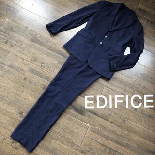 エディフィス(EDIFICE)のEDIFICE エディフィス 春夏 シアサッカー セットアップ Sサイズ(セットアップ)