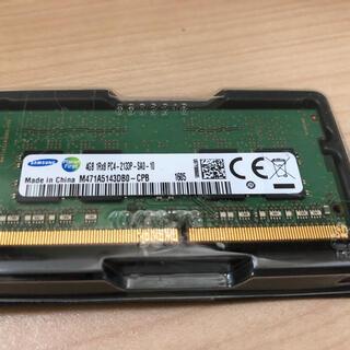 サムスン(SAMSUNG)のthinkpad Samsung 4GBメモリー(PCパーツ)