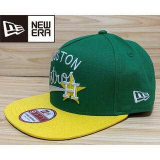 ニューエラー(NEW ERA)の【未使用/フリーサイズ】 NEW ERA × アストロズ MLB キャップ 帽子(キャップ)