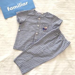 ファミリア(familiar)のfamiliar 半袖パジャマ 80(パジャマ)