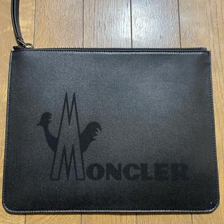 モンクレール(MONCLER)のクラッチバッグ(セカンドバッグ/クラッチバッグ)