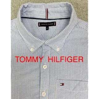 トミーヒルフィガー(TOMMY HILFIGER)の美品☆TOMMY HILFIGER☆ストライプ半袖ポシャツ 164(シャツ)