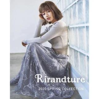 Rirandture - リランドチュール ドローイング刺繍チュールスカート