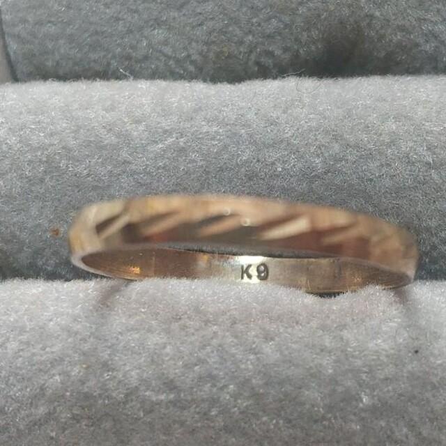 K9 ピンキーリング レディースのアクセサリー(リング(指輪))の商品写真