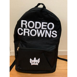 RODEO CROWNS - RODEO CROWNS【ロデオクラウンズ】ブラック 黒 リュック