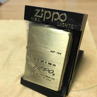 ジッポー(ZIPPO)のZippo ジッポー   ゴールド・2003年製造(タバコグッズ)
