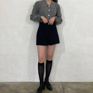 ショートパンツ  ブラック nugu 韓国ファッション