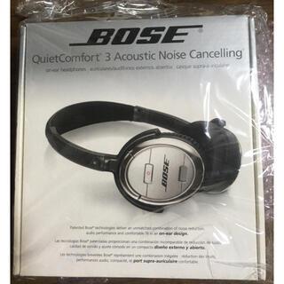 ボーズ(BOSE)のBOSE Quiet Comfort 3 ノイズキャンセリング ヘッドフォン(ヘッドフォン/イヤフォン)