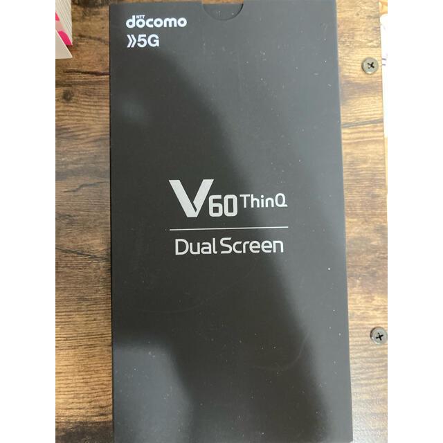 NTTdocomo(エヌティティドコモ)のL-51A LG V60 ThinQ 5G Dual Screen スマホ/家電/カメラのスマートフォン/携帯電話(スマートフォン本体)の商品写真