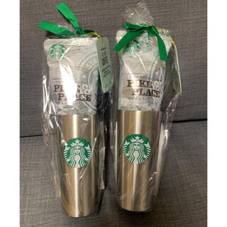 Starbucks Coffee - スタバーバックス タンブラー コーヒーセット シルバー ギフトセット