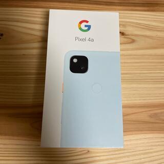 Google Pixel - 【新品未使用】Pixel4a SIMロック解除済