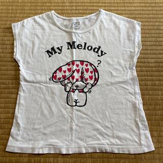 ユニクロ(UNIQLO)のUNIQLO UT Sanrio マイメロディTシャツ 120cm半袖Tシャツ (Tシャツ/カットソー)