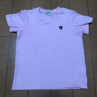 ダブルビー(DOUBLE.B)のDOUBLE.B ピンクTシャツ(Tシャツ/カットソー)