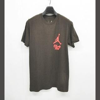 NIKE - ナイキ  x トラビス スコット Tシャツ ロゴ HIGHEST 半袖 茶 M