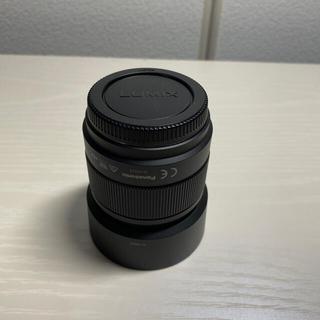 パナソニック(Panasonic)の【オマケ付き】LUMIX G 25mm/F1.7 ASPH. H-H025-K(レンズ(単焦点))
