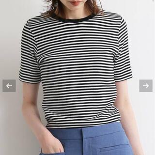 IENA - 【AURALEE/オーラリー】IENA 別注 LUSTER リブ Tシャツ
