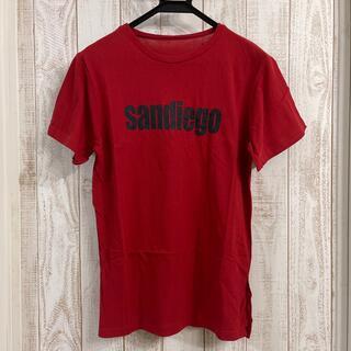ディーホリック(dholic)の〜*******真紅色・プリント半袖Tシャツ*******〜(Tシャツ(半袖/袖なし))