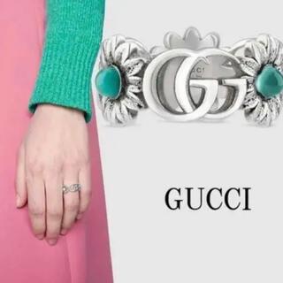 グッチ(Gucci)のGUCCI ダブルG フラワー リング(リング(指輪))