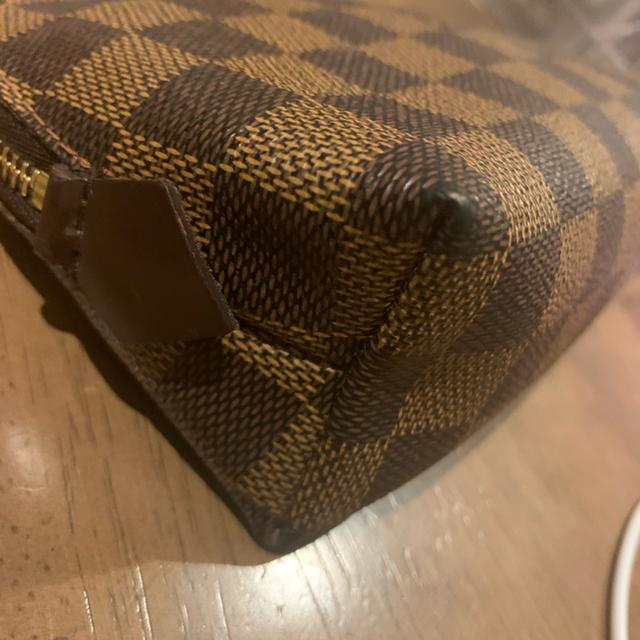 LOUIS VUITTON(ルイヴィトン)のヴィトンダミエポーチ正規品 レディースのファッション小物(財布)の商品写真