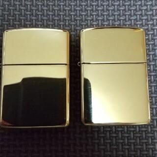 ジッポー(ZIPPO)のアーマー ブラス ケース 2個(タバコグッズ)