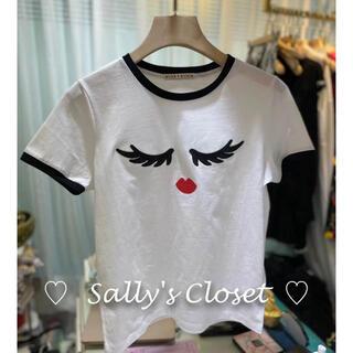 アリスアンドオリビア(Alice+Olivia)の❣️21人気新作 ♡Alice+Olivia アリス Tシャツ 新品♡ b8(Tシャツ(半袖/袖なし))