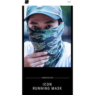 アンディフィーテッド(UNDEFEATED)のUNDEFEATED ICON RUNNING MASK  マスク(その他)