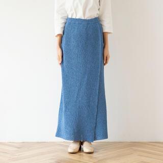 シールームリン(SeaRoomlynn)のシールームリン PAPER KNIT スリットスカート(ロングスカート)