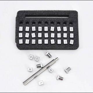 レザークラフト  刻印  6mm  革細工  アルファベット  数字  工具