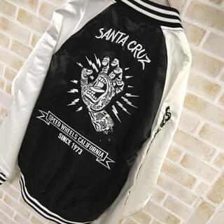 【刺繍デザイン】SANTA CRUZ 個性派 HYSTERIC REASON(スカジャン)