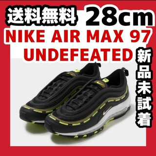 ナイキ(NIKE)の28cm UNDEFEATED x NIKE AIR MAX 97 BLACK(スニーカー)
