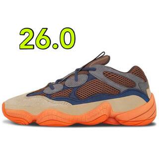 アディダス(adidas)のYEEZY 500 ENFLAME 26.0(スニーカー)