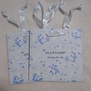 JILLSTUART - ジルスチュアート サムシングピュアブルー ショップ袋