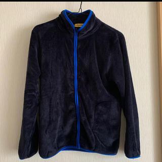 シマムラ(しまむら)のフリース160(紺色)(ジャケット/上着)