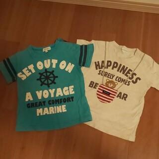 サンカンシオン(3can4on)のTシャツ 2枚 90   3can4on(Tシャツ/カットソー)
