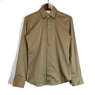 ディオールオム(DIOR HOMME)のウーヨンミ Wooyoungmi ストレッチレギュラーカラー比翼ドレスシャツ(シャツ)