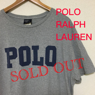 POLO RALPH LAUREN - ポロ ラルフローレン US古着 ビックロゴ半袖Tシャツ 女性にも!