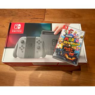Nintendo Switch - 任天堂switchとスーパーマリオ3Dワールド