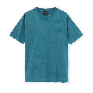 Paul Smith - 新品☆Paul Smith Tシャツ クルーネック☆青緑☆Lサイズ