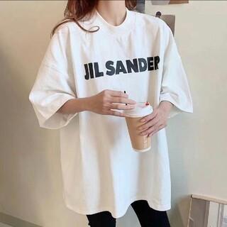 JIL SANDER ジルサンダー オーバーサイズ ロゴ Tシャツ