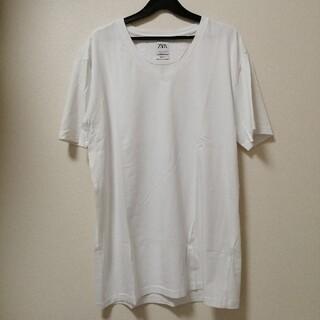 ザラ(ZARA)のZARA☆シンプルVTシャツ(Tシャツ/カットソー(半袖/袖なし))