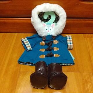 ジェラトーニ(ジェラトーニ)のふわもこフード付きコート 2017 冬 ジェラトーニ コスチューム(キャラクターグッズ)