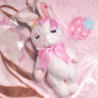 アンジェリックプリティー(Angelic Pretty)の【新品】リリカルバニー バッグチャーム ラス1(ぬいぐるみ)