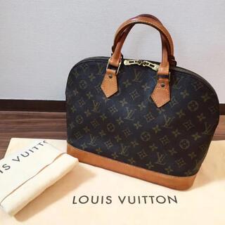 LOUIS VUITTON - 【状態良好 保存袋付き】正規品 ルイヴィトン アルマ ハンドバッグ モノグラム