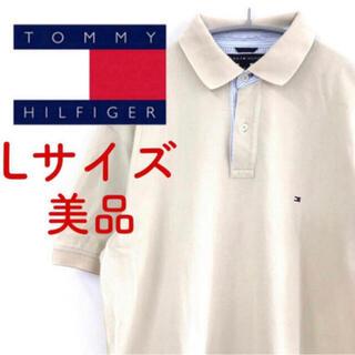 トミーヒルフィガー(TOMMY HILFIGER)の【美品♪】TOMMY HILFIGER 半袖 ポロシャツ メンズ L11 FT(ポロシャツ)