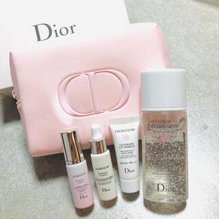 クリスチャンディオール(Christian Dior)のDior /スノー エッセンス ピンクポーチ セット(コフレ/メイクアップセット)