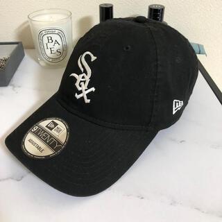 NEW ERA - new era 帽子 cap 9twenty WHITE SOX  black